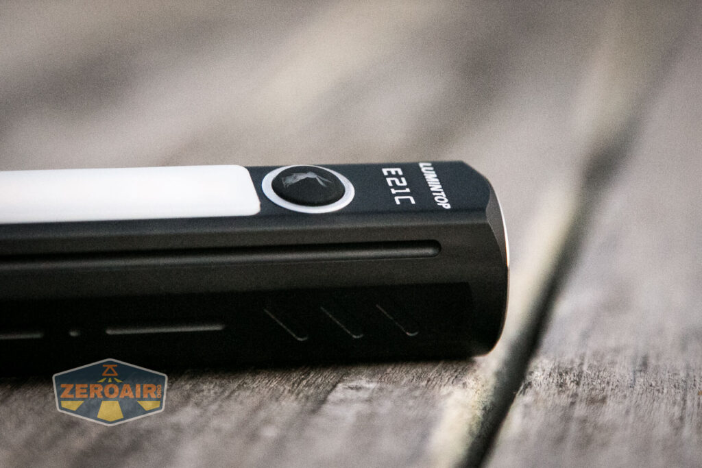 Lumintop E21C Flashlight e-switch