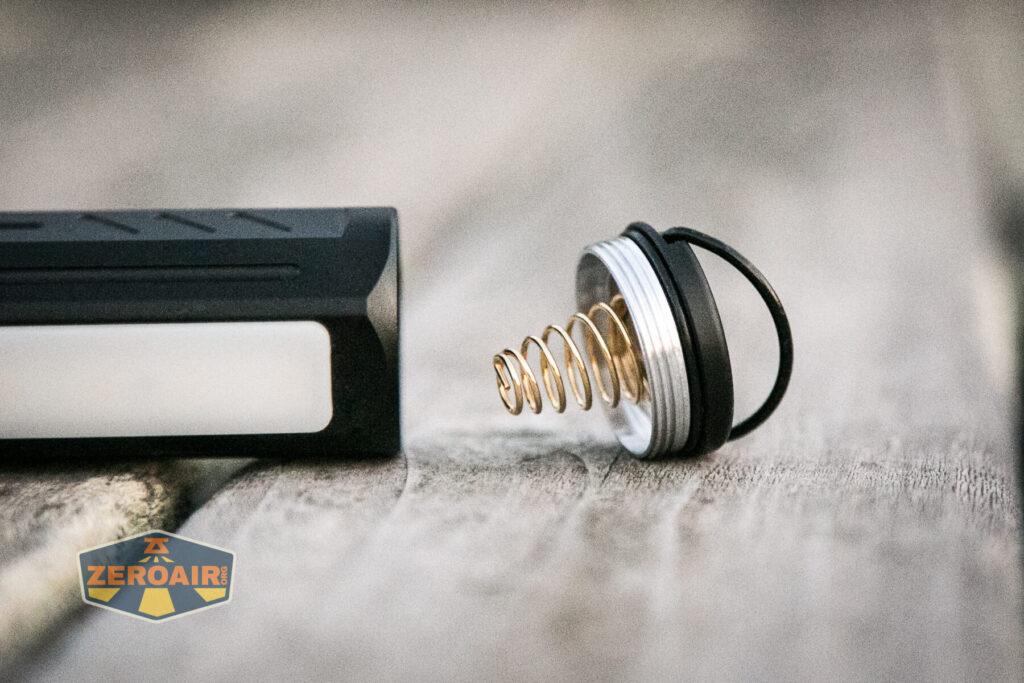 Lumintop E21C Flashlight tailcap