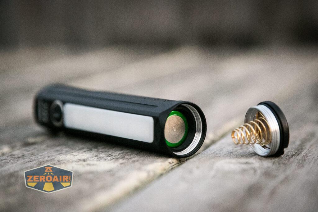 Lumintop E21C Flashlight 18650 adapter