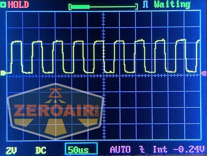 Lumintop E21C Flashlight pwm graph
