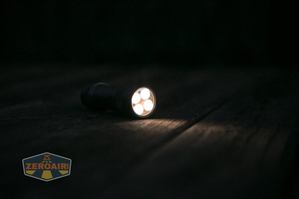 Lumintop FW4X Flashlight beamshots