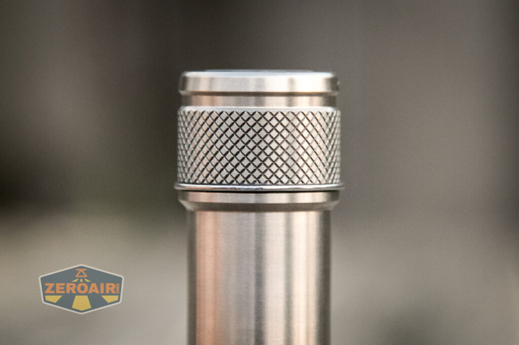 Lumintop FWAA TiCU 14500 flashlight pocket clip