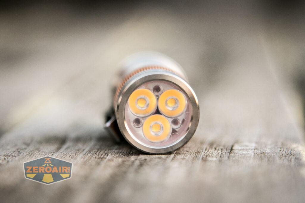 Lumintop FWAA TiCU 14500 flashlight emitters