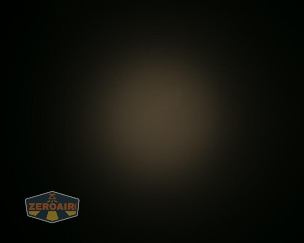 Lumintop FWAA TiCU 14500 flashlight beamshots on ceiling
