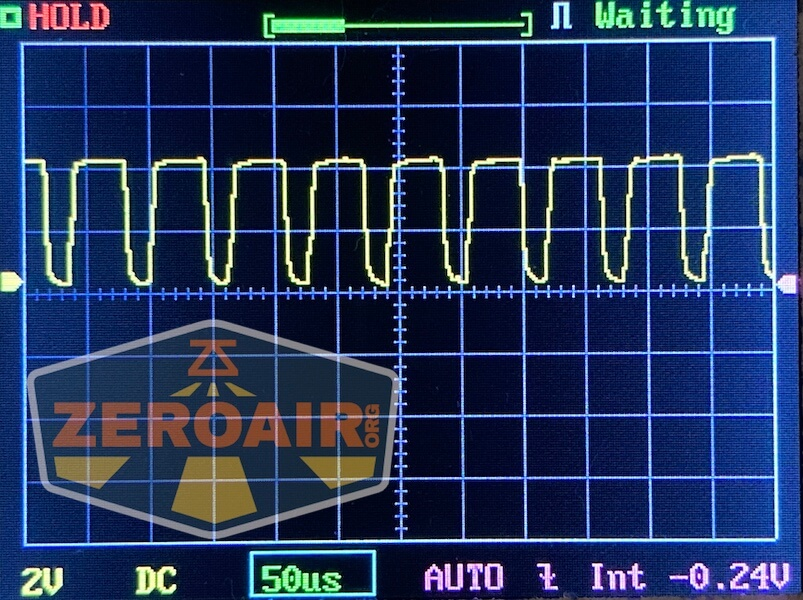 Lumintop FWAA TiCU 14500 flashlight pwm graph