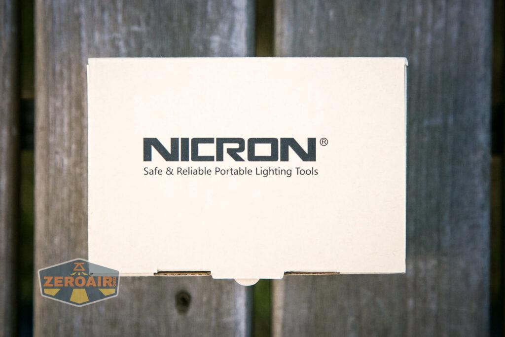 Nicron H15 Headlamp box