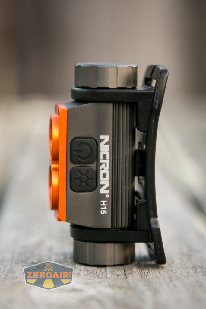 Nicron H15 Headlamp all sides