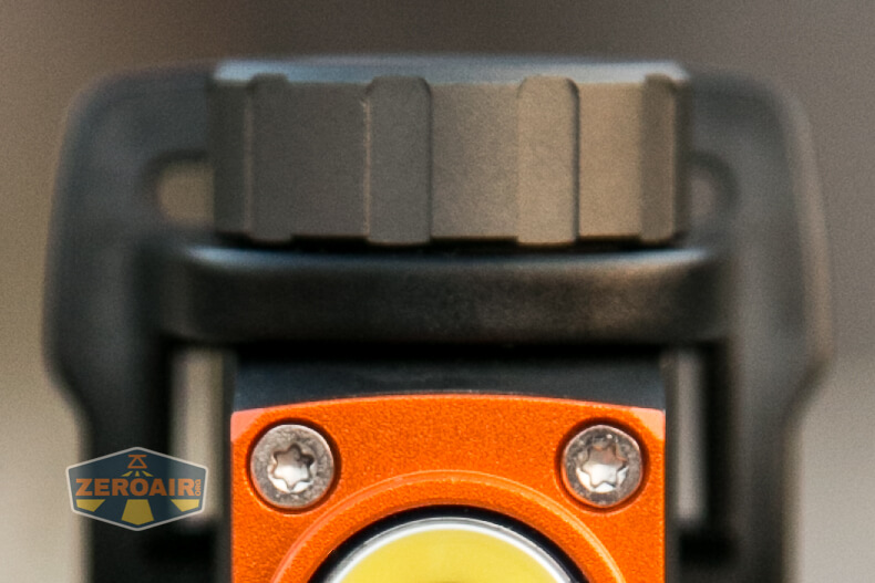 Nicron H15 Headlamp top-down view