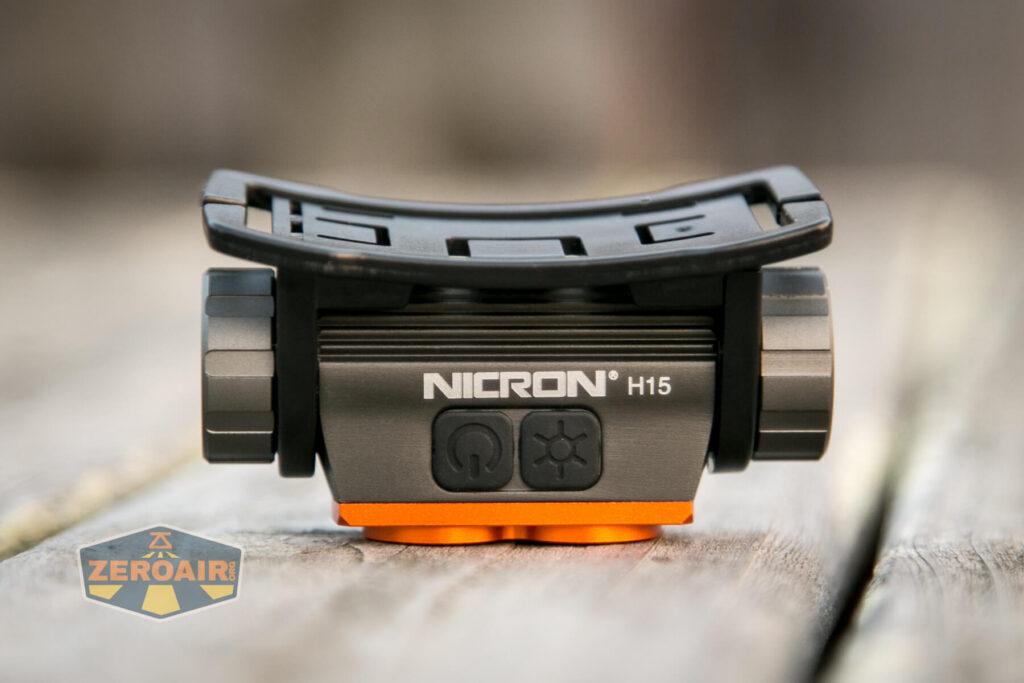 Nicron H15 Headlamp dual switches