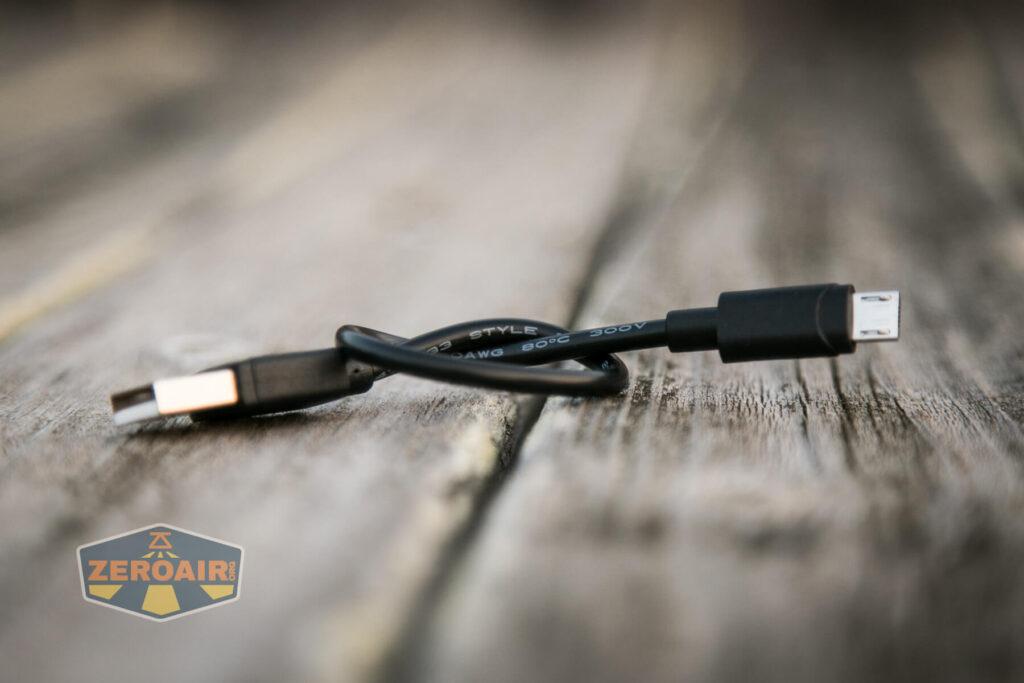 Nicron H15 Headlamp charge cable
