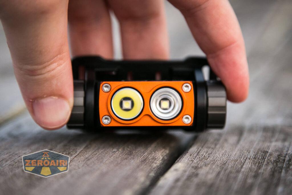 Nicron H15 Headlamp emitters