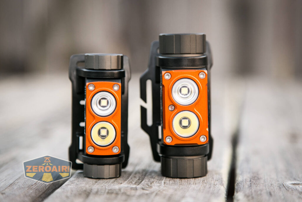 Nicron H25 Headlamp with Nicron H15 Headlamp
