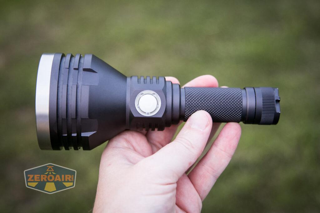 Noctigon K1 21700 Flashlight in hand