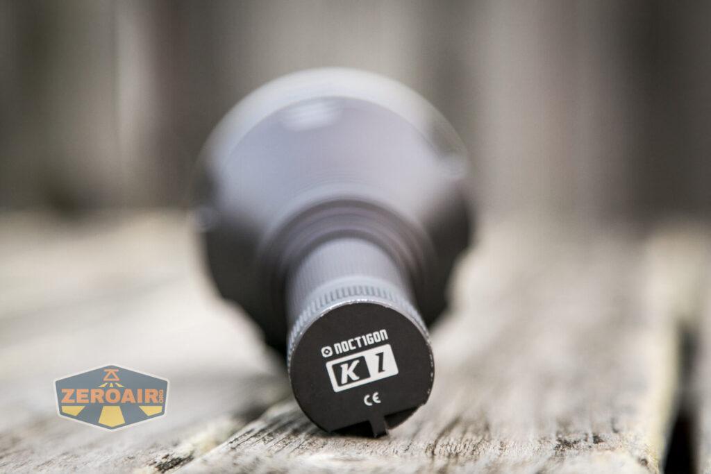 Noctigon K1 21700 Flashlight branding