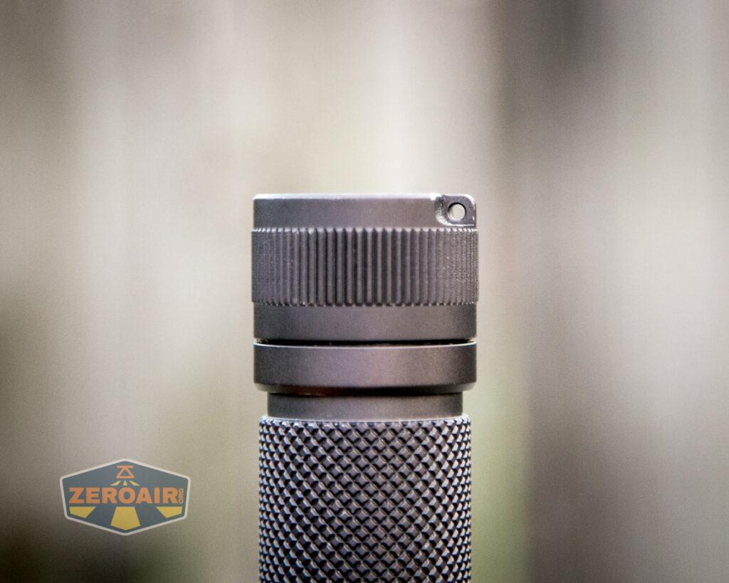 Noctigon K1 21700 Flashlight lanyard hole