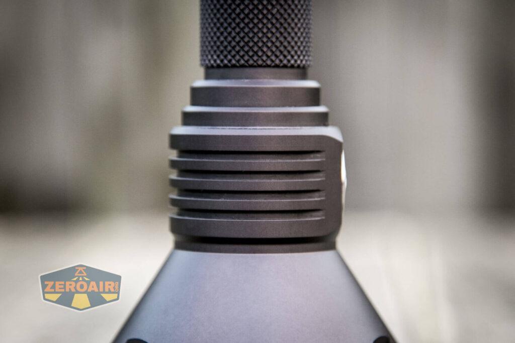 Noctigon K1 21700 Flashlight cooling