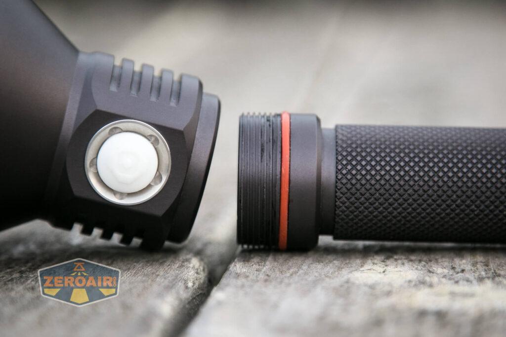 Noctigon K1 21700 Flashlight head threads