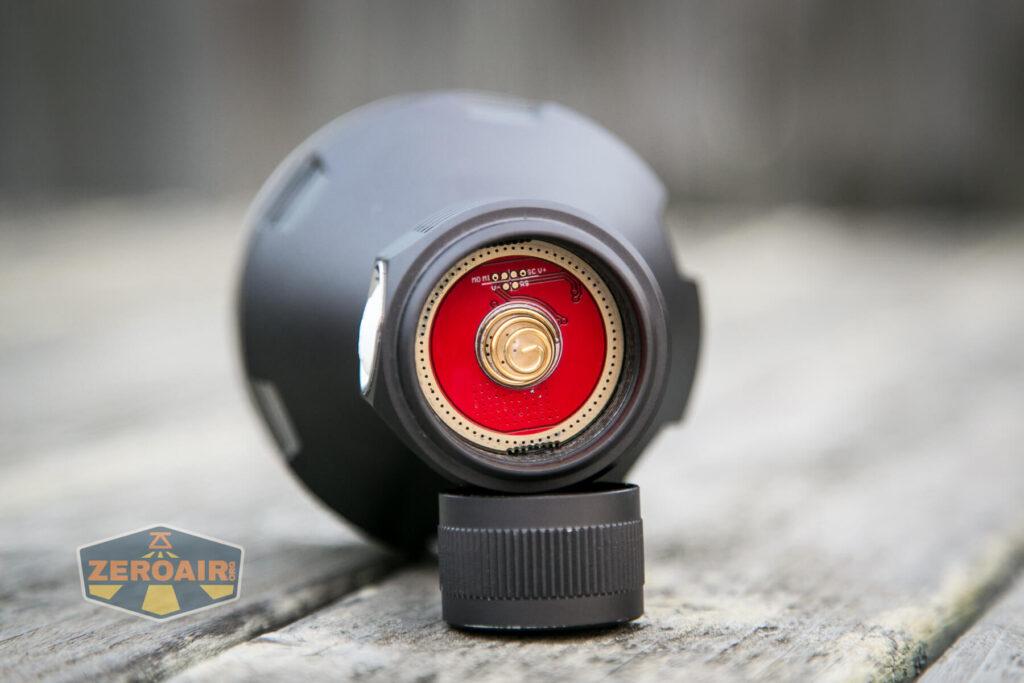 Noctigon K1 21700 Flashlight head spring