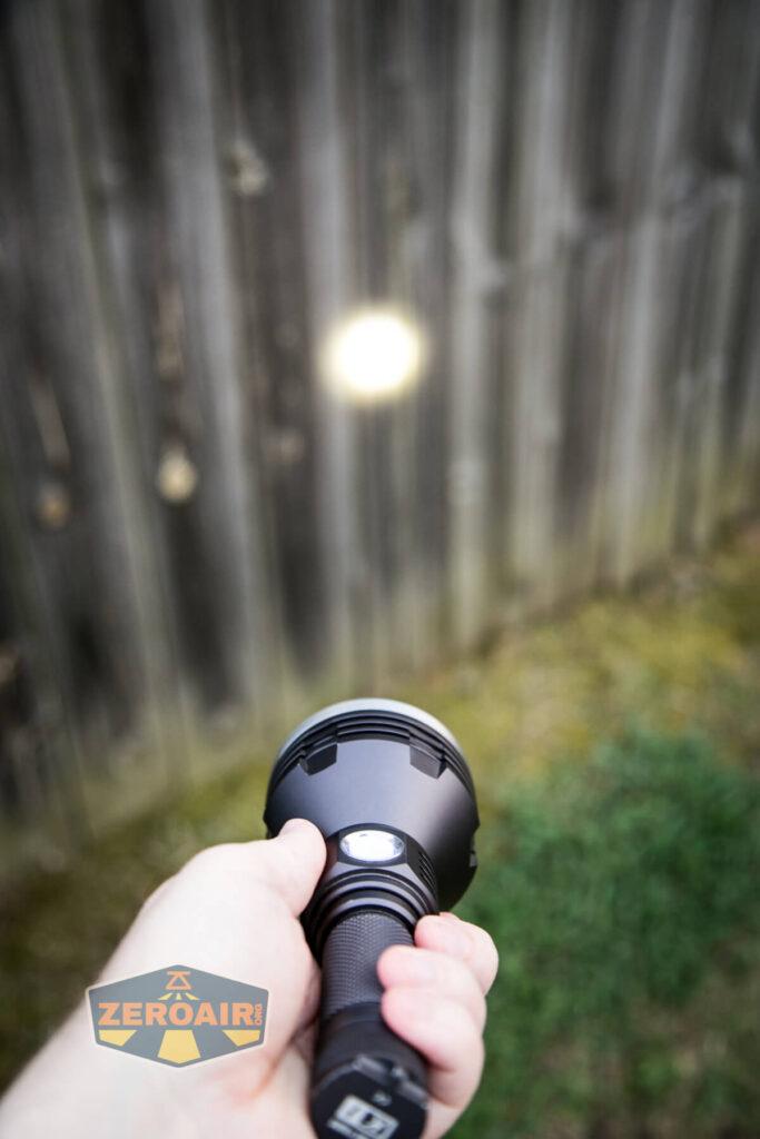 Noctigon K1 21700 Flashlight random beamshots