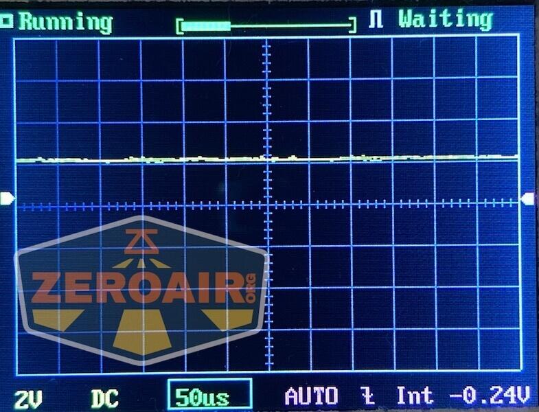 Noctigon K1 21700 flashlight pwm graph