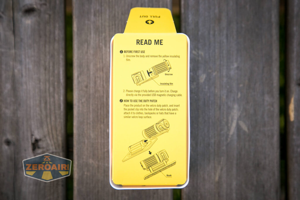 Olight Perun Mini Kit Headlight box