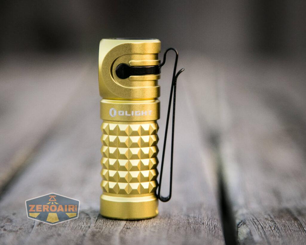 Olight Perun Mini Kit Headlight pocket clip