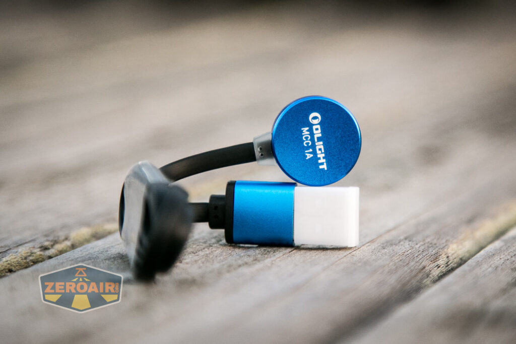 Olight Perun Mini Kit Headlight mcc charger