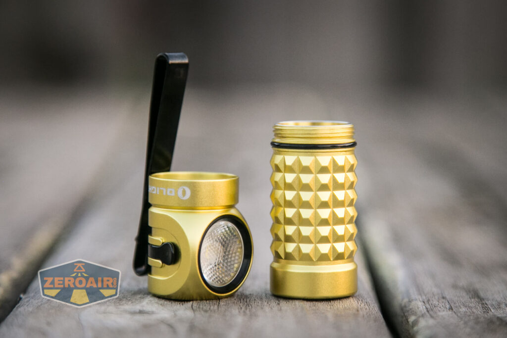 Olight Perun Mini Kit Headlight head off