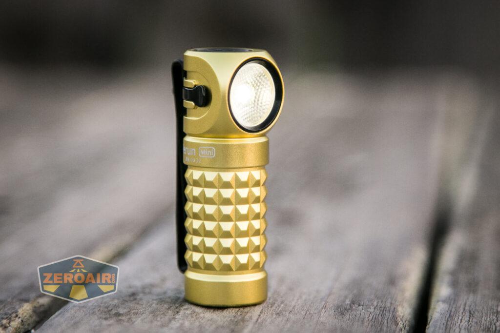 Olight Perun Mini Kit Headlight on