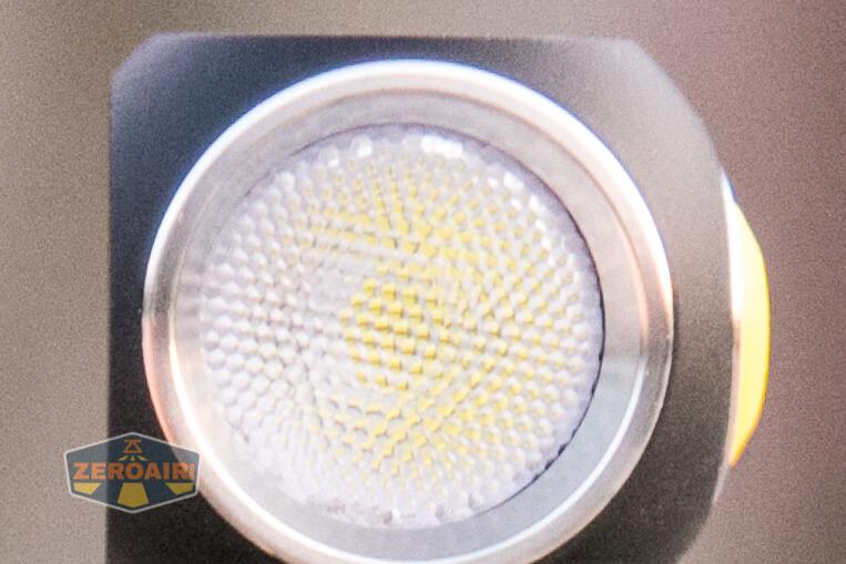 Armytek Wizard C2 WUV Headlamp top-down views