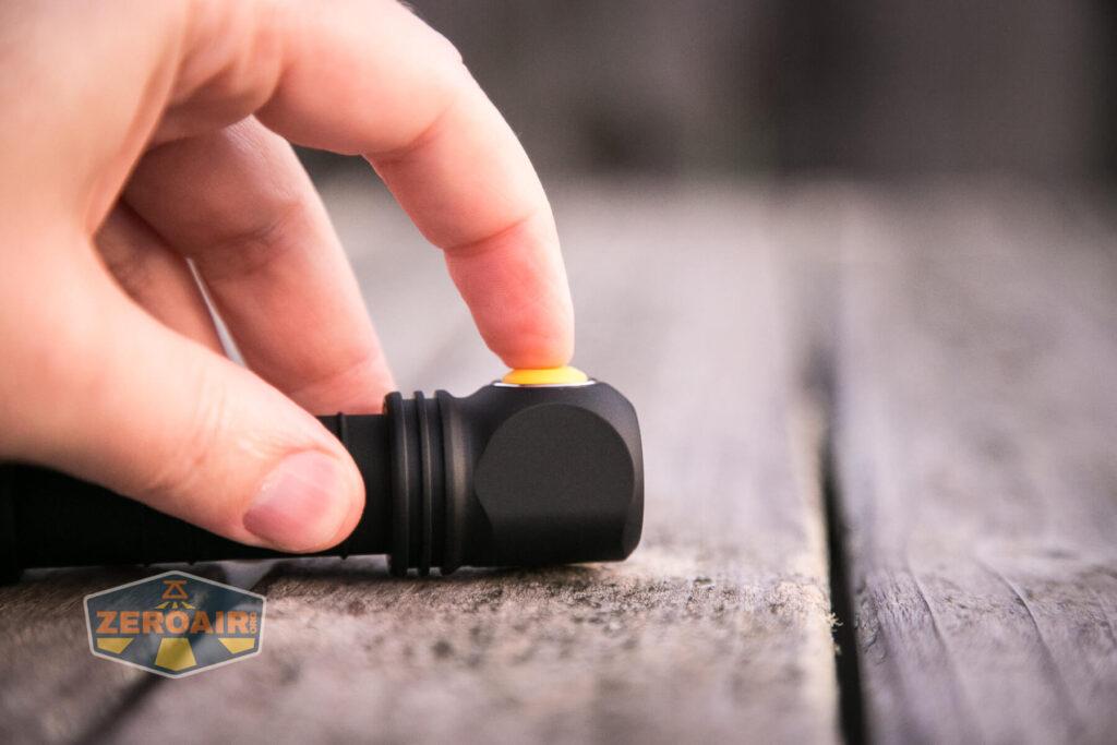 Armytek Wizard C2 WUV Headlamp e-switch actuation