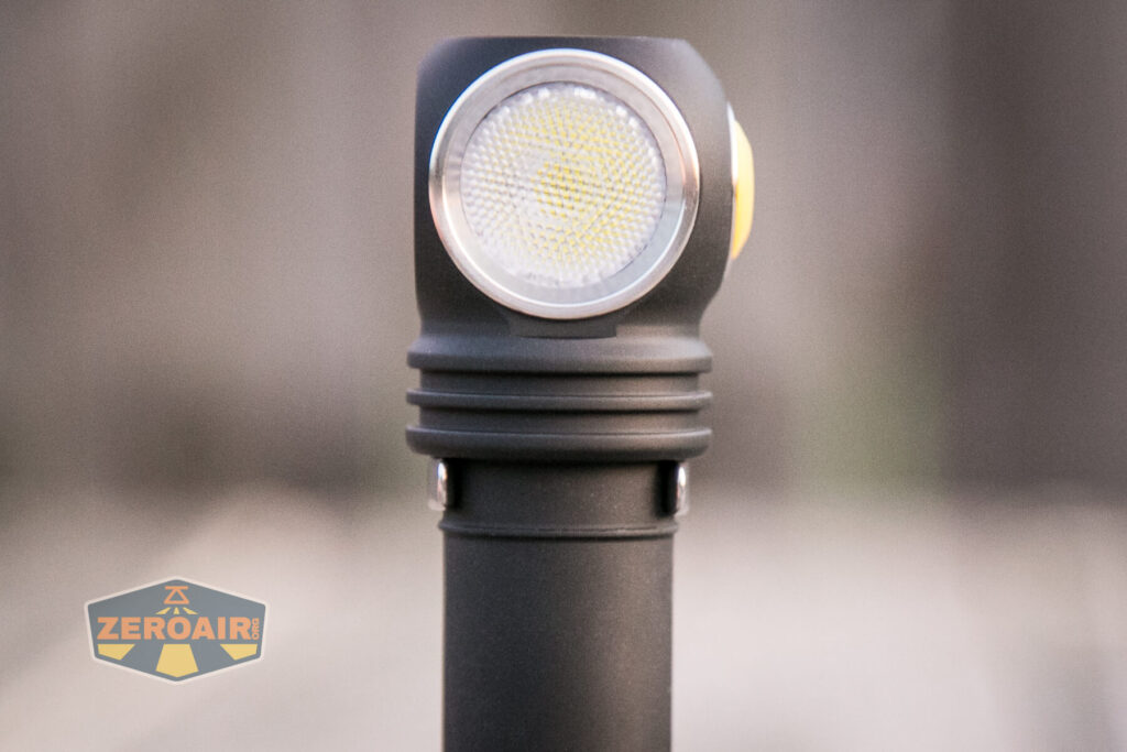 Armytek Wizard C2 WUV Headlamp pocket clip