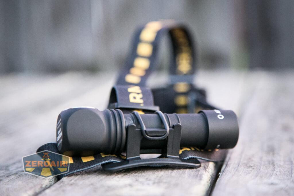 Armytek Wizard C2 WUV Headlamp with headband