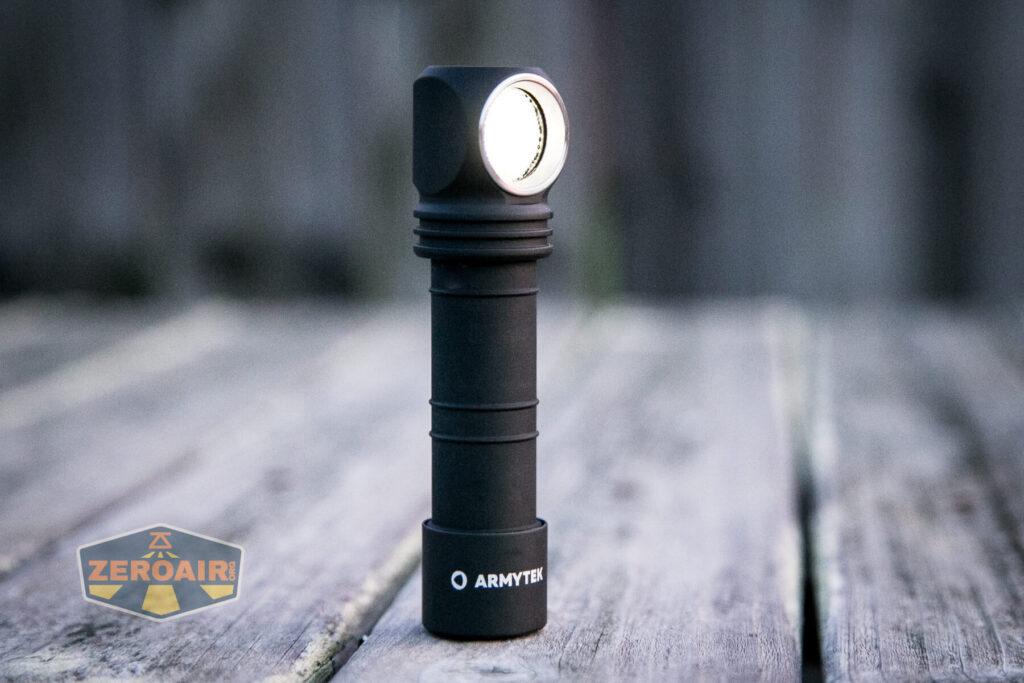 Armytek Wizard C2 WUV Headlamp emitter