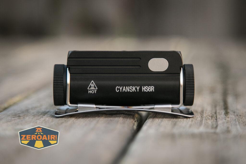Cyansky HS6R Headlamp body