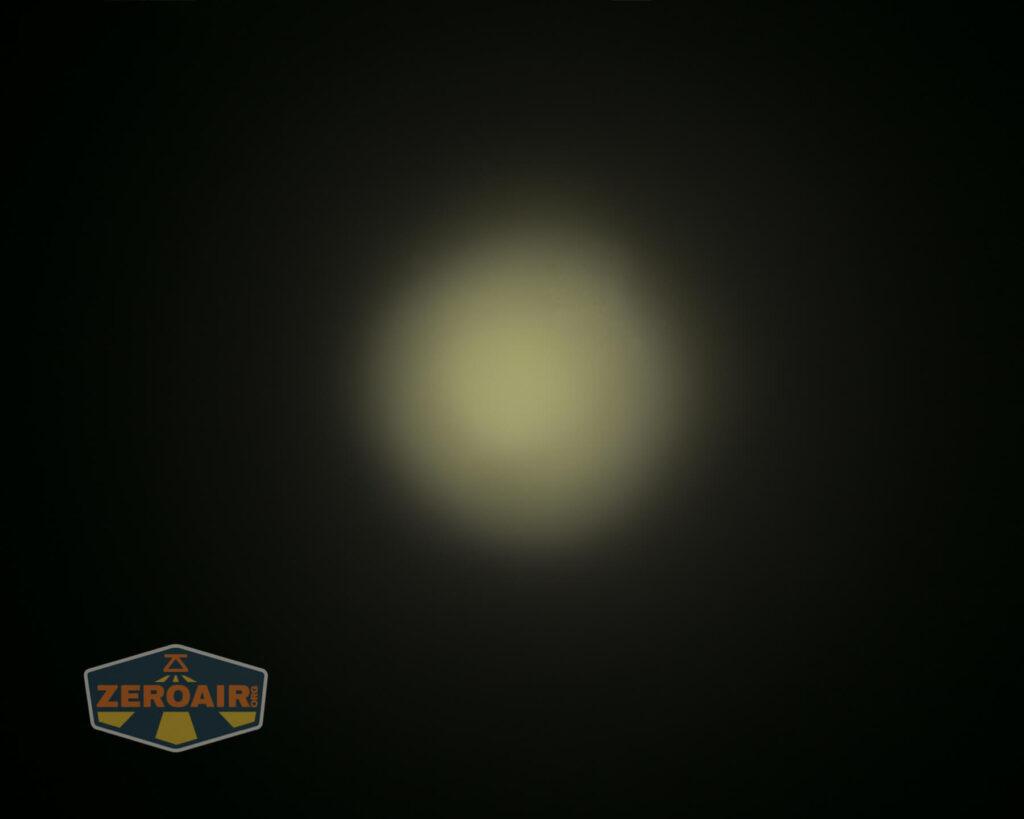 Cyans7ky HS6R headlamp beamshots ceiling