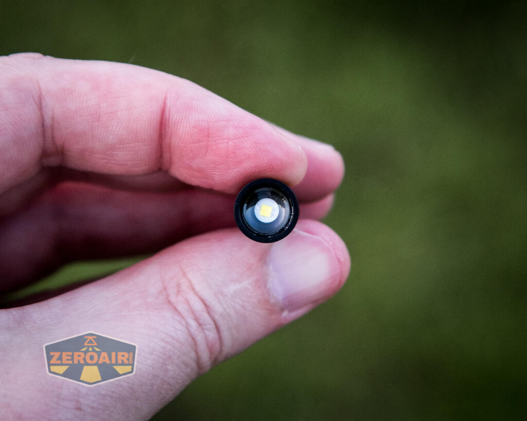 Olight X9R Cell in-hand